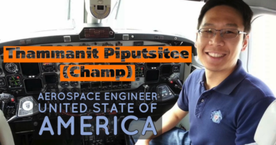 English Interview with Champ Thammanit, Thai Aerospace Engineer