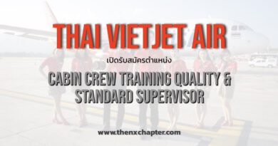 Thai Vietjet Air Cabin Crew Training Quality and Standard Supervisor