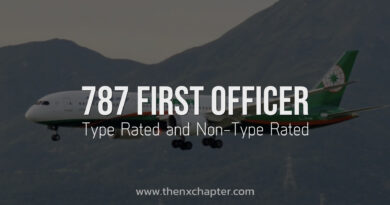EVA Air เปิดรับสมัครนักบินผู้ช่วย (First Officer) เครื่องแบบ B787 Type Rated and Non-Type Rated
