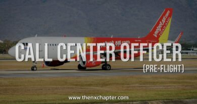 Thai Vietjet Air เปิดรับสมัคร Call Center Officer (Pre-Flight)