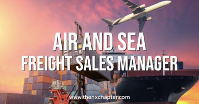 EUSU Logistics เปิดรับ Air & Sea Freight Sales Manager