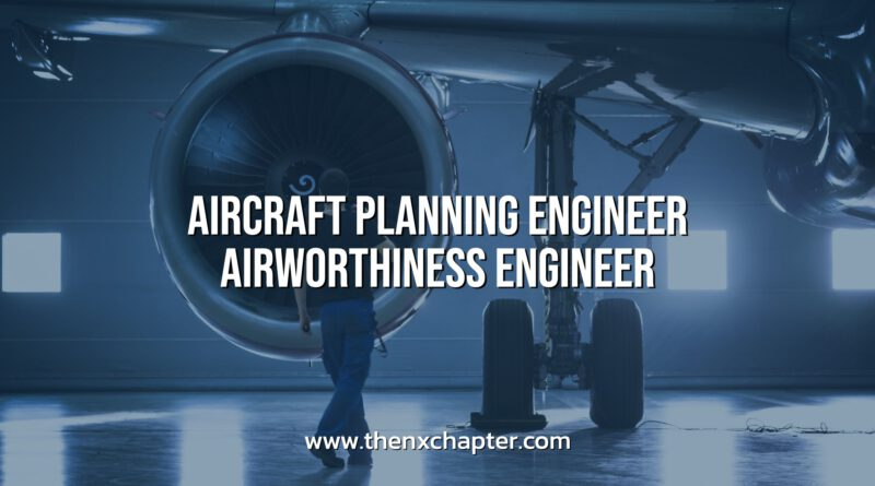 AeroNeotech รับสมัคร Aircraft Planning/Airworthiness Engineer