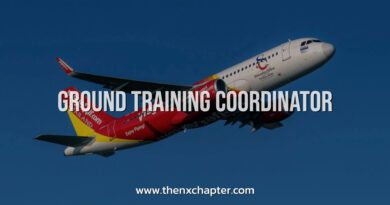 Thai Vietjet เปิดรับ Ground Training Coordinator